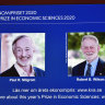 Two Americans win Nobel Prize in economics for new auction formats