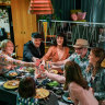 Joyous return of the dinner party as suburbs (kind of) come back to life