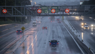 New $600 million technology on Sydney's M4 motorway has been switched on.