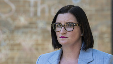 "NSW Education Minister Sarah Mitchell said ""safety of students and staff has to come first"" as she addressed media after HSC exams on Monday."