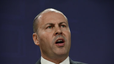 "Treasurer Josh Frydenberg: ""We are affected""."
