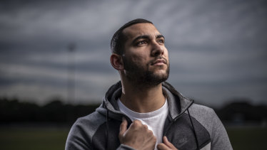 Fitter than ever: George Timotheou has recovered from heart surgery.
