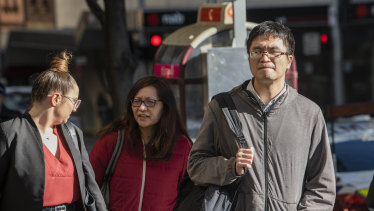 Zhanyi Png (right) is accused of sexually abusing a patient.