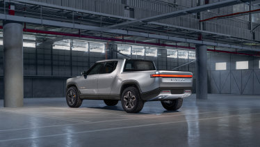 Rivian's R1T electric ute.