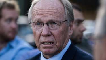 Outgoing Australian Rugby League Commission chairman Peter Beattie.
