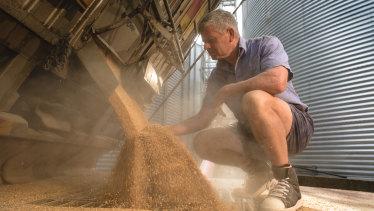 Craig Neale of Wholegrain Milling in Gunnedah, NSW.