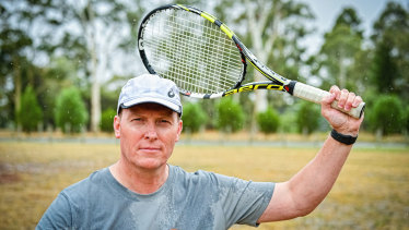 Beechworth Lawn Tennis Club president Andy Carr is threatening legal action against the Australian Sports Commission.