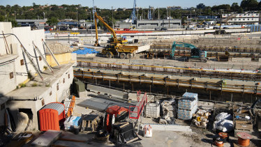 """""""One of the great assets in the world"""": WestConnex construction surrounding Rozelle and Lilyfield."""