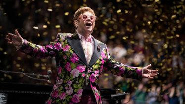 Elton John's farewell tour.
