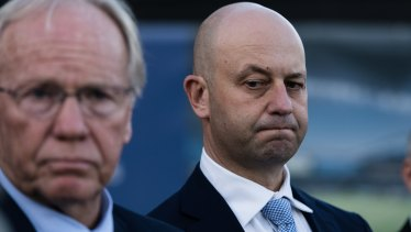 ARLC chairman Peter Beattie and NRL chief executive Todd Greenberg speak after the decision.