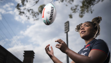 Aliti Namoce has been promoted to the Roosters' side for a crucial NRLW clash.
