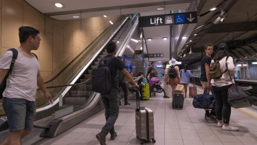 Patronage on the Airport Line has surged in recent years.