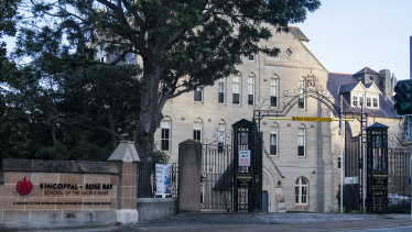 The Kincoppal school at Rose Bay will close on Monday after two students tested positive for the virus.