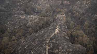 Bushfire-affected regions of the Blue Mountains include Bilpin, Dargan (pictured) and the Grose Valley.