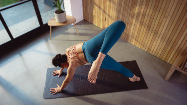 Lululemon's 'smart' yoga mat is designed to correct your poses.