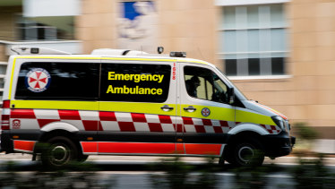 NSW Ambulance were called to Newport Anchorage Marina about 11am.