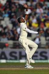 Jofra Archer was muted instead of fiery at Old Trafford.