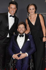 Gala event: The Don Award finalists Cooper Cronk, Dylan Alcott and Ash Barty.
