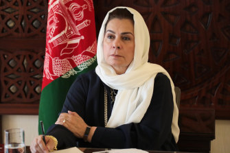 Fatima Gailani is helping negotiate a peace deal with the Taliban.