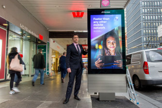 """Deputy lord mayor Nicholas Reece said the supersized phone booths were """"billboards masquerading as payphones""""."""