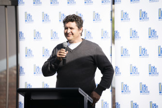Once homeless, Jason Blaiklock is the chief executive of Australian Opal Cutters.