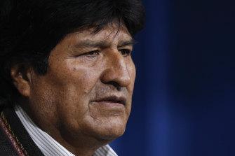 Bolivia's President Evo Morales.