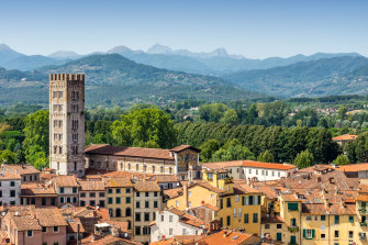 Lucca has been a pilgrimage site for centuries.