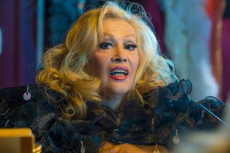 """I'm no DaVinci"": Carlotta."