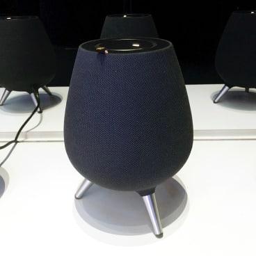 The Galaxy Home smart speaker.