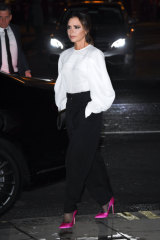 The modern muse for power dressing ... Victoria Beckham.