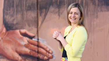 Kylie Marino first realised something was wrong in high school but didn't get diagnosed until she was in her 30s.