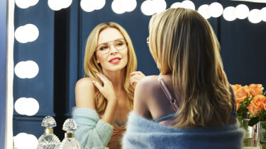"""Minogue said her current range of glasses for Specsavers is her """"favourite""""."""