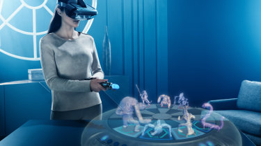 If you want to get a bit more cerebral, you can play the iconic chess-like holographic game from the original film.