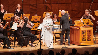 Soprano Alexandra Oomens performs  with Pinchgut Opera at the Melbourne Recital Centre.