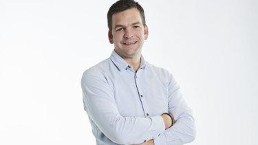 Menulog managing director Ben Carter.