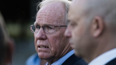 Vindication: Peter Beattie staked his reputation on the no-fault stand-down policy.