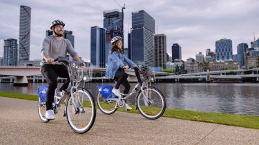 Brisbane's CityCycle bikes will ditch the yellow and take on a new blue look.