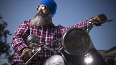Turbans 4 Australia president Amar Singh wants to be able to ride his motorbike without a helmet.