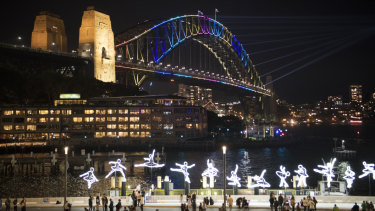 The opening night of Vivid has received a positive response on social media.