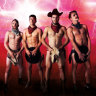 Wild West acrobats whip up cowboy hijinks