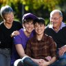 'I love my children to death': Campaign celebrates Victorians who support LGBTIQ+ relatives