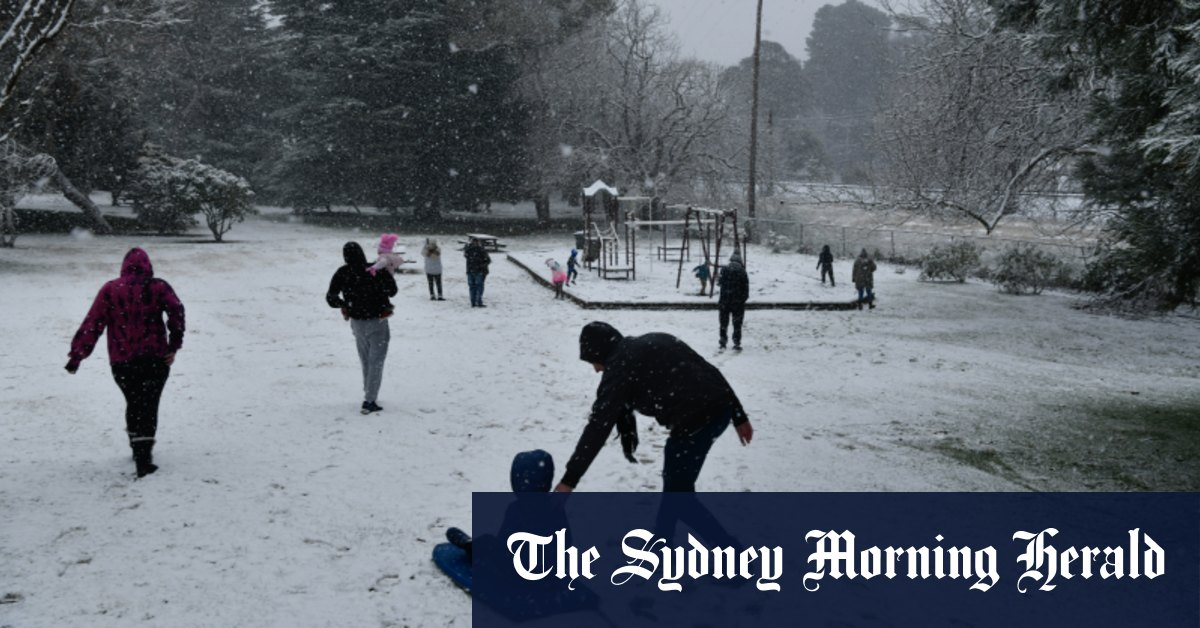Sydney set for coldest day in 25 years while Orange blanketed in snow – Sydney Morning Herald