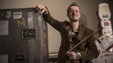 Richard Tognetti is swapping classical for  rock'n'roll in Indies & Idols.