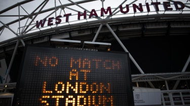 West Ham are due to return to training on April 13.