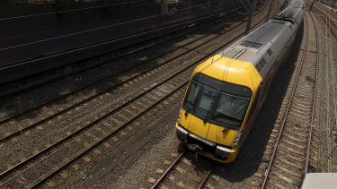 The 30-year-old woman was allegedly assaulted on a Sydney train.