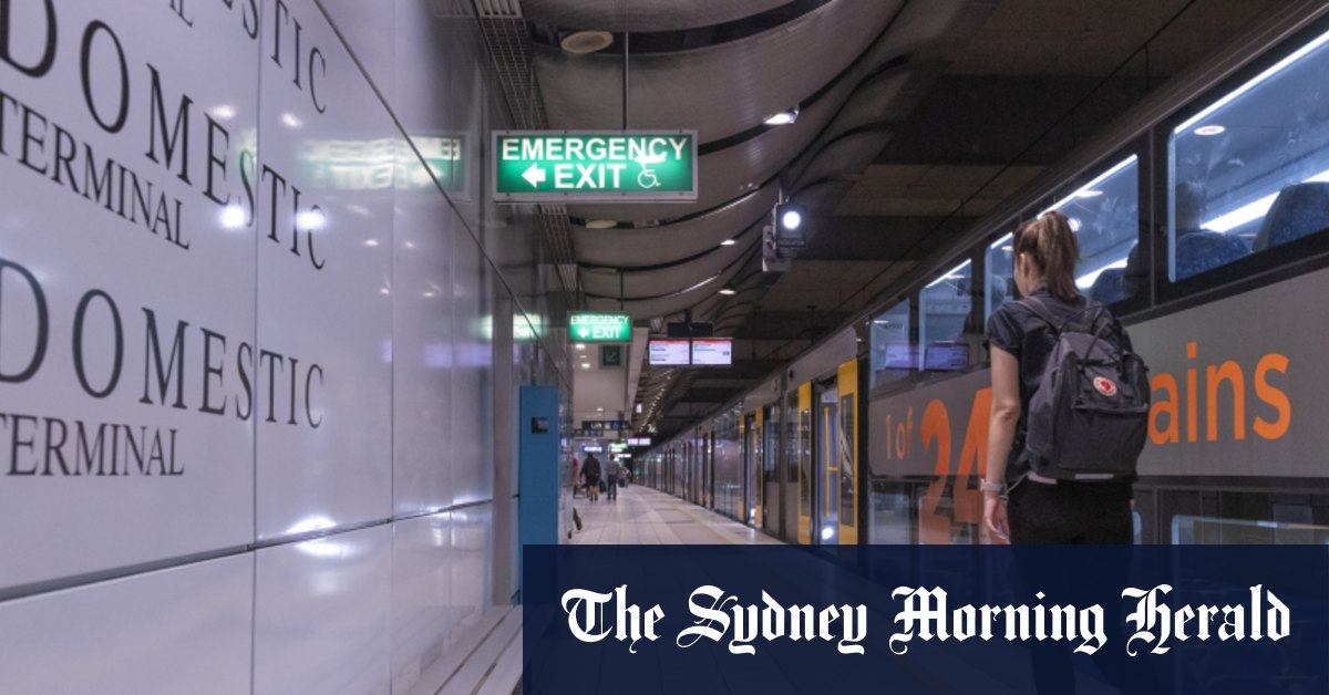 Trains services resume at Sydney Airport train stations after police operation – Sydney Morning Herald