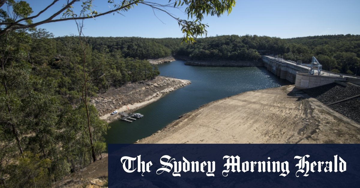 Sydney dams start to spill after a saturated six months – Sydney Morning Herald