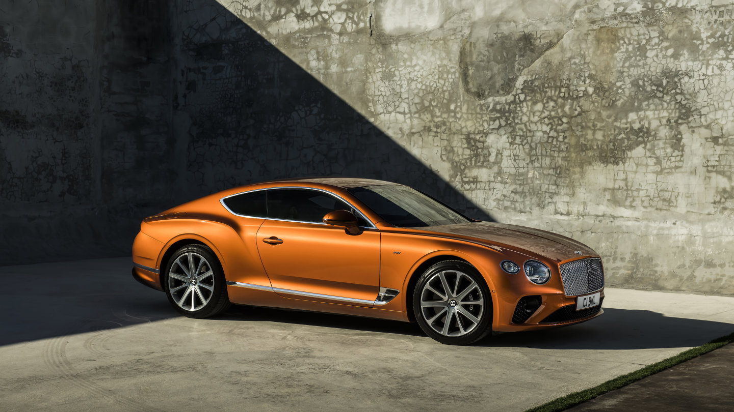 Make Your Presence Felt In The Bentley Continental Gt V8