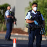 'Violent extremist'  shot dead within 60 seconds of Auckland attack