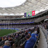 Smooth arrival at Optus Stadium as derby fans froth over sell-out